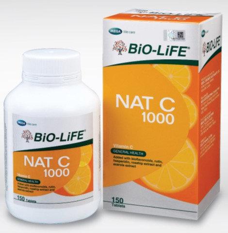 BiO-LiFE NAT C 1000mg Bioflavonoids (150S)