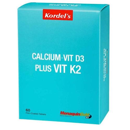 Kordel's Calcium + Vit D3 Plus Vit K2 - Bone Health