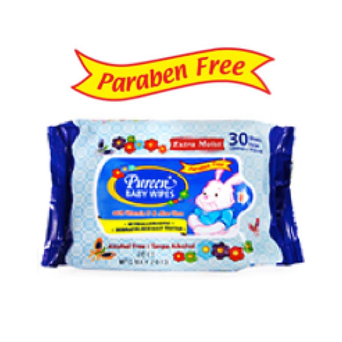Pureen Baby Wipes (Blue Packaging) 30's x2