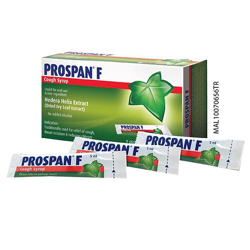 Prospan F Cough Syrup Stick 9s x 5ml