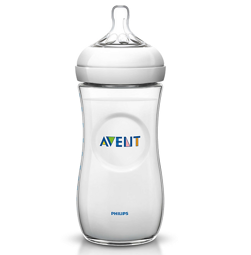 Philips Avent Natural baby bottle 11OZ/330 6M+ (Single Pack)