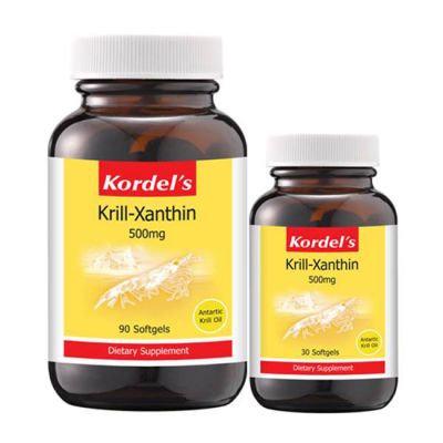 Kordel's Krill-Xanthin 500mg (90S+30S)