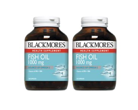 Blackmores Fish Oil 1000mg, 120 capsules, twin pack (120s x 2)