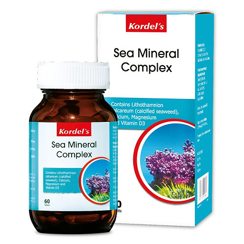 Kordel's Sea Mineral Complex (2X60S) - Bone & Joint Health