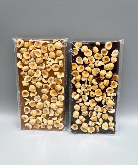 Tablette de chocolat aux Noisettes du Piémont