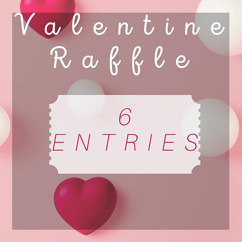 Valentine raffle!! 6 Entries!!
