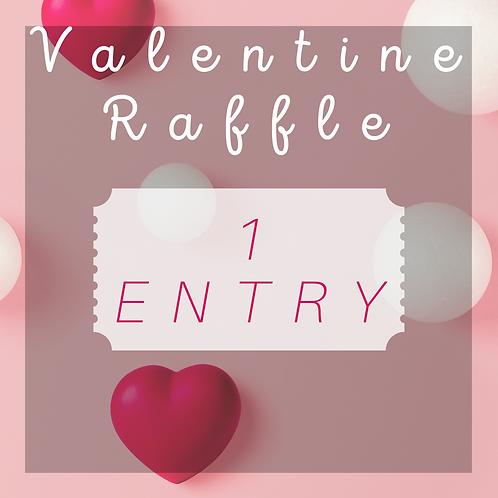Valentine raffle!! 1 Entry!