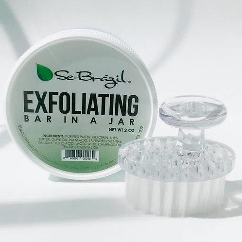 Exfoliating Bar In A Jar