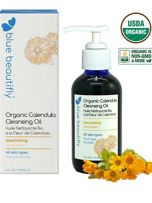Organic Calendula Cleansing Oil  4 oz