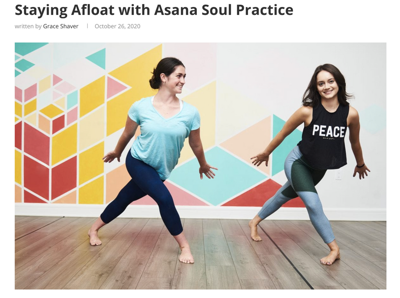 Staying Afloat with Asana Soul Practice (for The Digest)