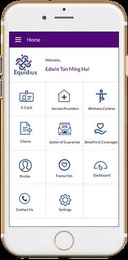Equidius Mobile App