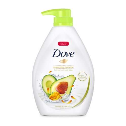 DOVE Body Wash - Avocado + Calendula (Invigorating Hydration) (1L)