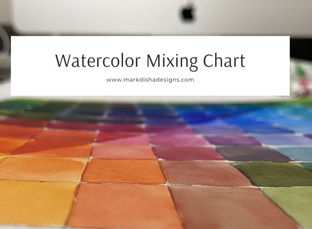 How to Create Watercolor Mixing Chart