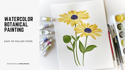 Watercolor Botanical Painting Class