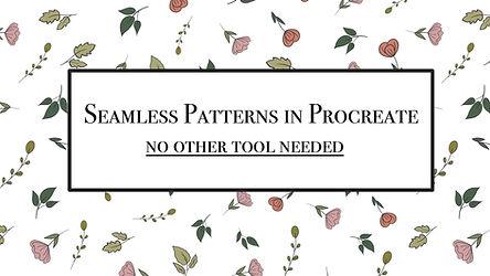 Seamless Patterns in Procreate