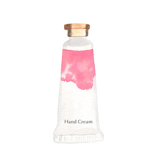Hand Cream Illustration