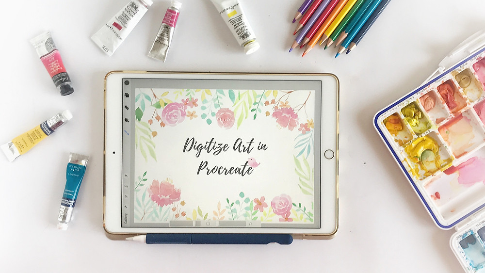 Digitize Art in Procreate - Skillshare Class