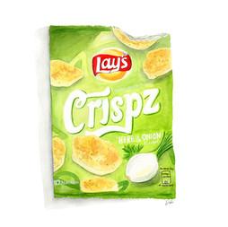 Lays Chips Illustration