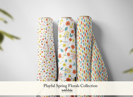 Playful Spring Florals Collection