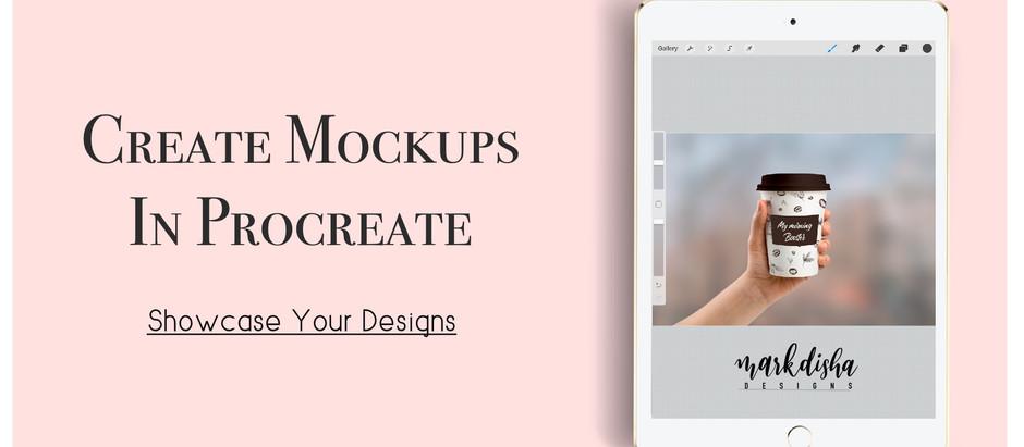 Create Mockups in Procreate