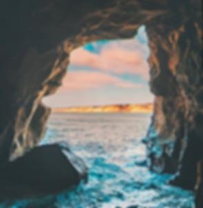Sunny Jim Sea Cave in La Jolla, CA