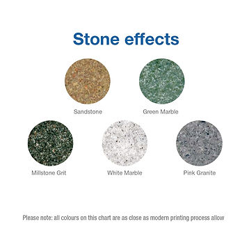 ZooWizards Stone Effect colours