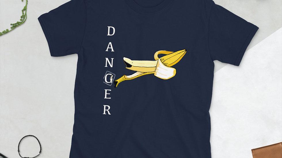 Danger Fruit - Banana - Short-Sleeve Unisex T-Shirt