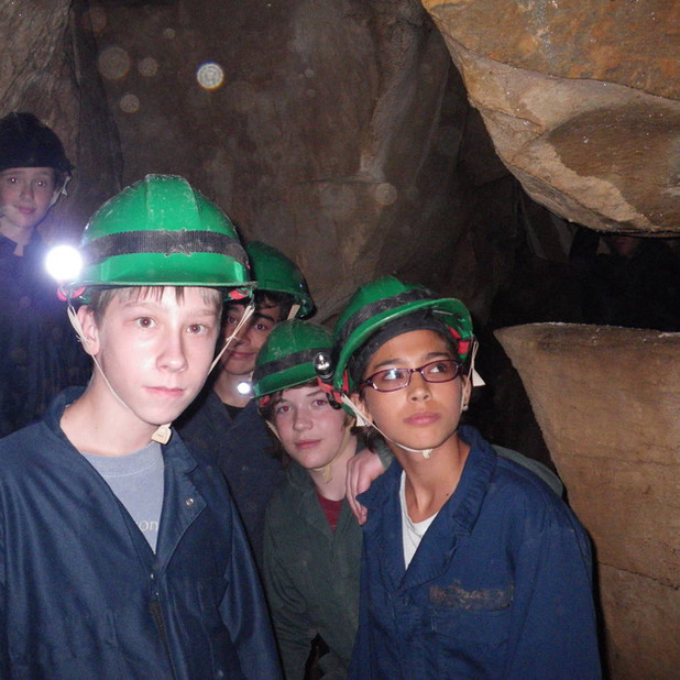 Guided Wild Caving