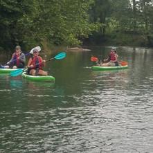 Guided Paddle Board Kayaking