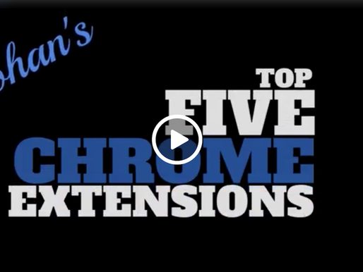 Top 5 Chrome Extensions for Students