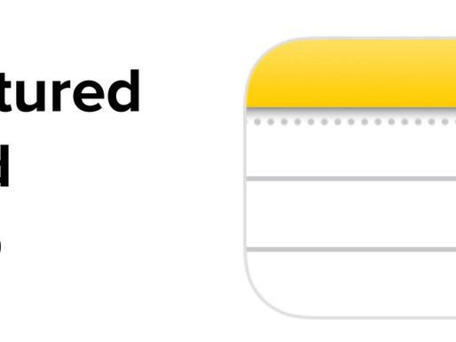 Notes (iOS App)