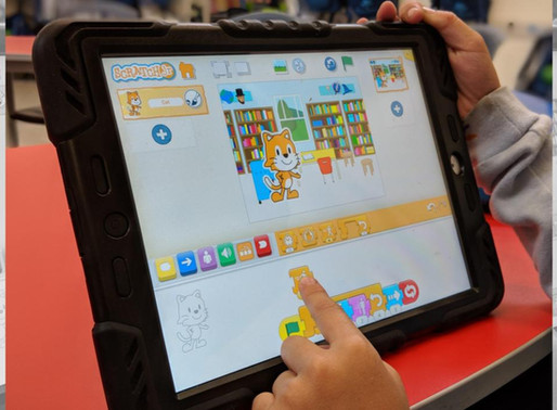 Coding for 'Littlies' with Scratch Jr