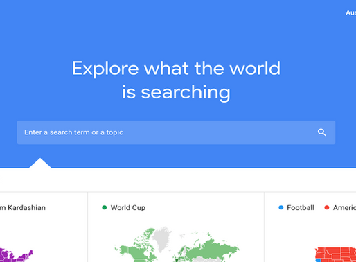 Google Trends for Education