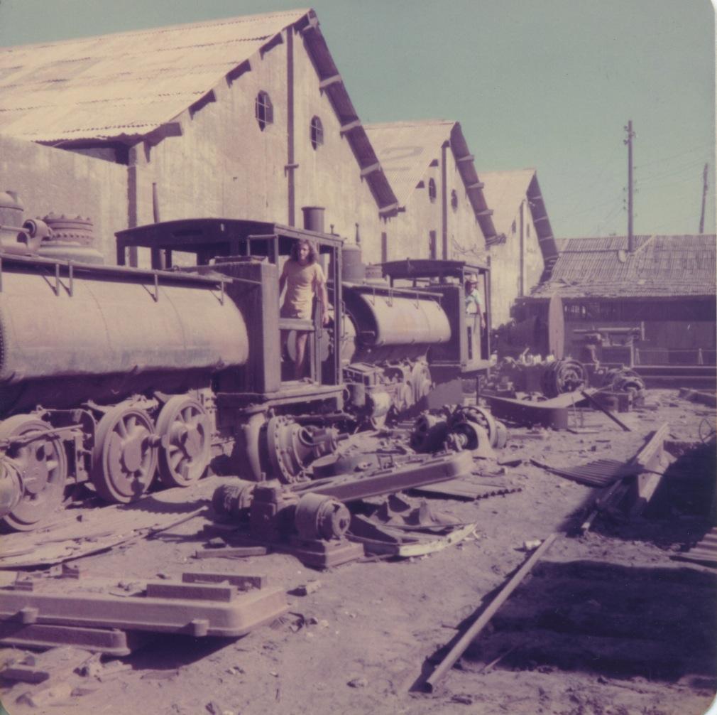 Santa Rosalia, c '75 s.white photo