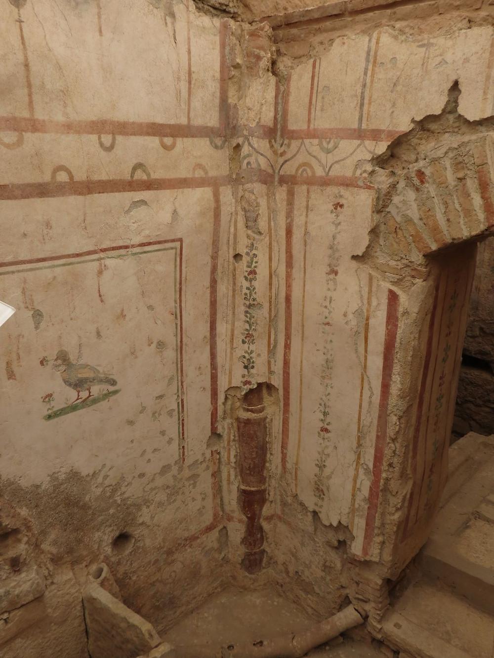 Ephesus Frescos and Plumbing System