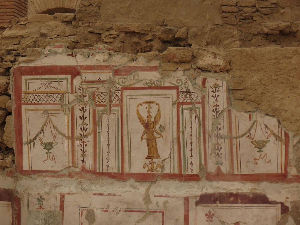 Ephesus Frescos Restored