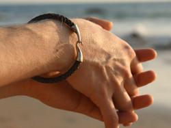 Sterling Silver Mens Bracelet