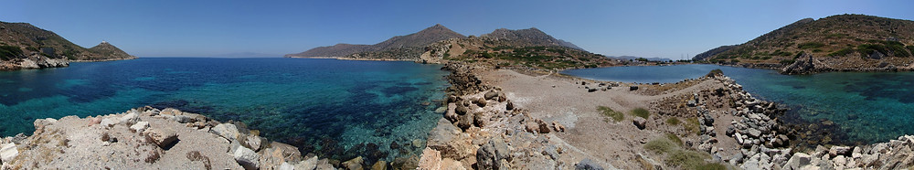 Knidos, panaromic view