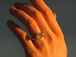 Egyptian Scarab Rings