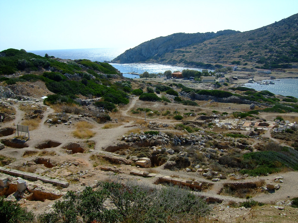 Knidos, Harbour