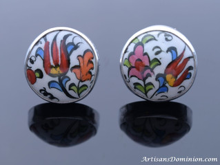 Iznik Pottery, Sterling Silver & Gems: Perfect Recipe for Turkish Jewelry Delights Part 2