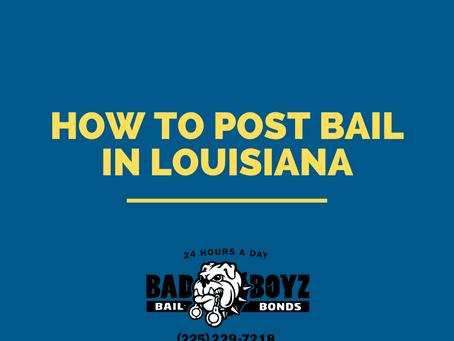 Bail Bonds Near Me: How to Post Bail in Louisiana