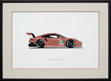 Porsche 911 RSR 'Pink Pig'