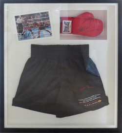 Boxing Memorabilia.