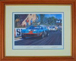 Gulf Racing GT40 Le Mans 1969