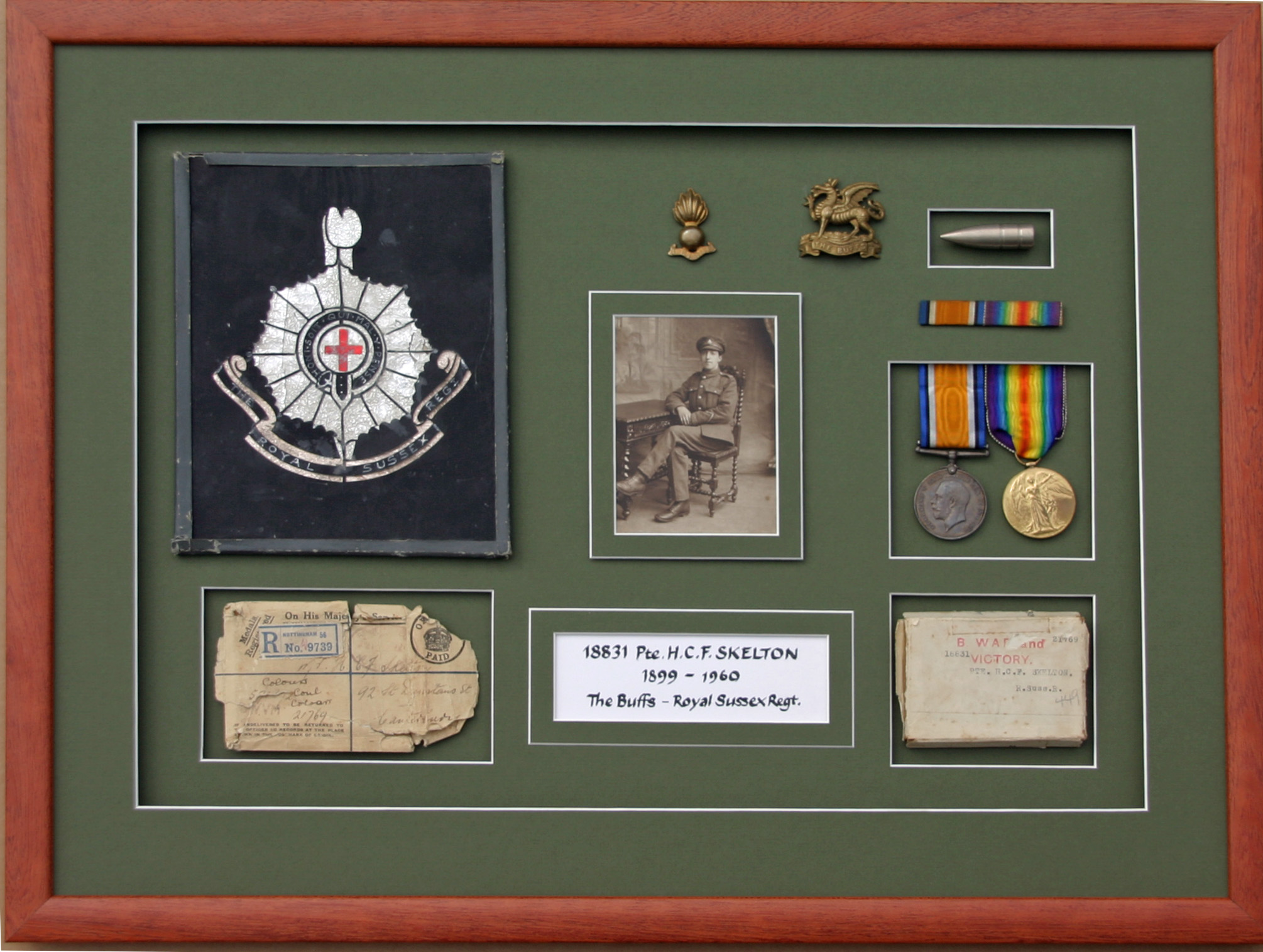 WW1 Family Memorabilia.