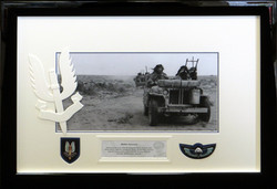 SAS Mount with Badges.