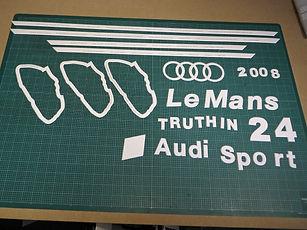creative mount cutting Gunnar Le Mans Audi Sport