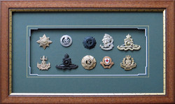 Military Badge Collection.