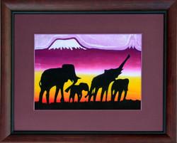 African Fabric Print.